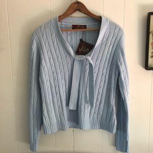 Elar • Baby Blue Cashmere Blend Sweater
